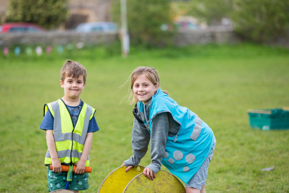 Outdoor fun at Mighty Oaks Holiday Club Cirencester
