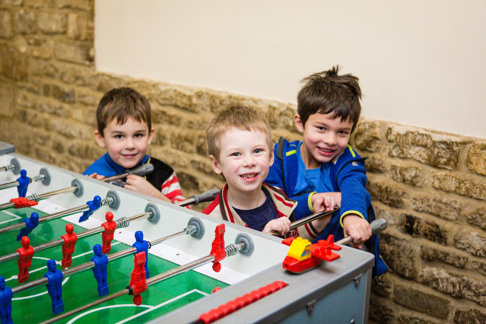 Table Football at Mighty Oaks Holiday Club Cirencester