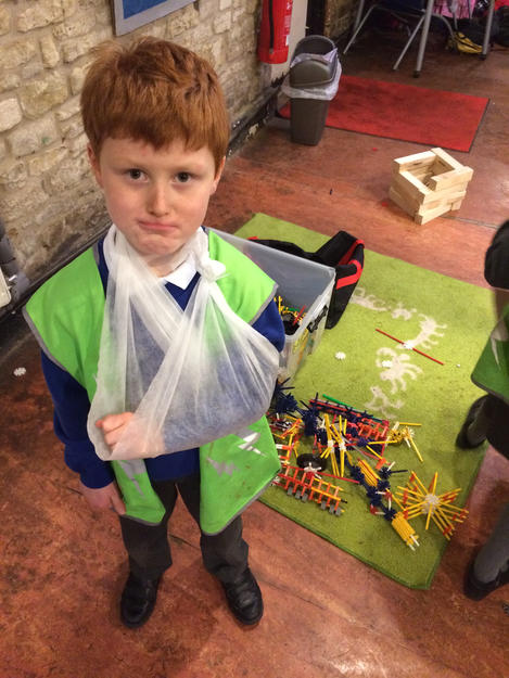 Role play fun at Cirencester after school club.