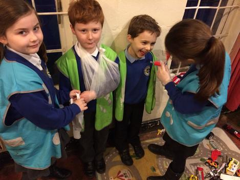 Medics in the making at Mighty Oaks - Cirencester After School Club